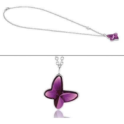 collier femme bijoux Nomination Butterfly 021370/001
