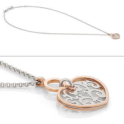 collier femme bijoux Nomination Romantica 141540/004