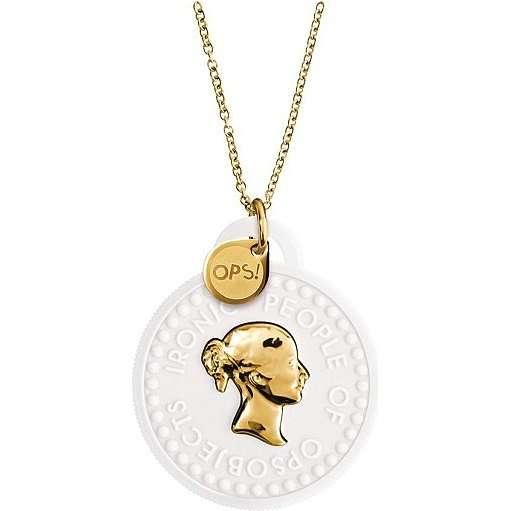 collier femme bijoux Ops Objects Tresor OPSKCL-01