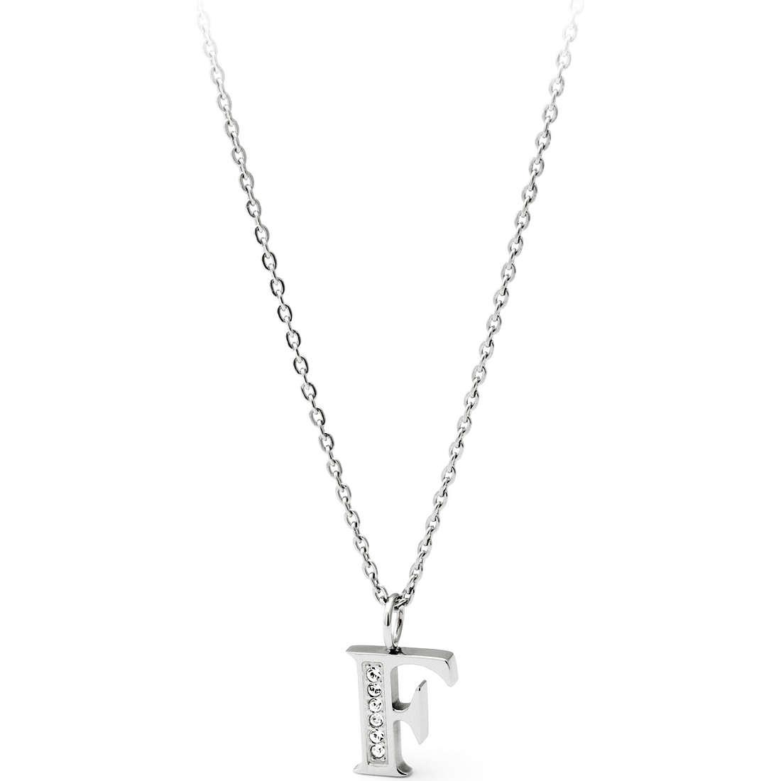 collier femme bijoux Sagapò Alphabet SALF1