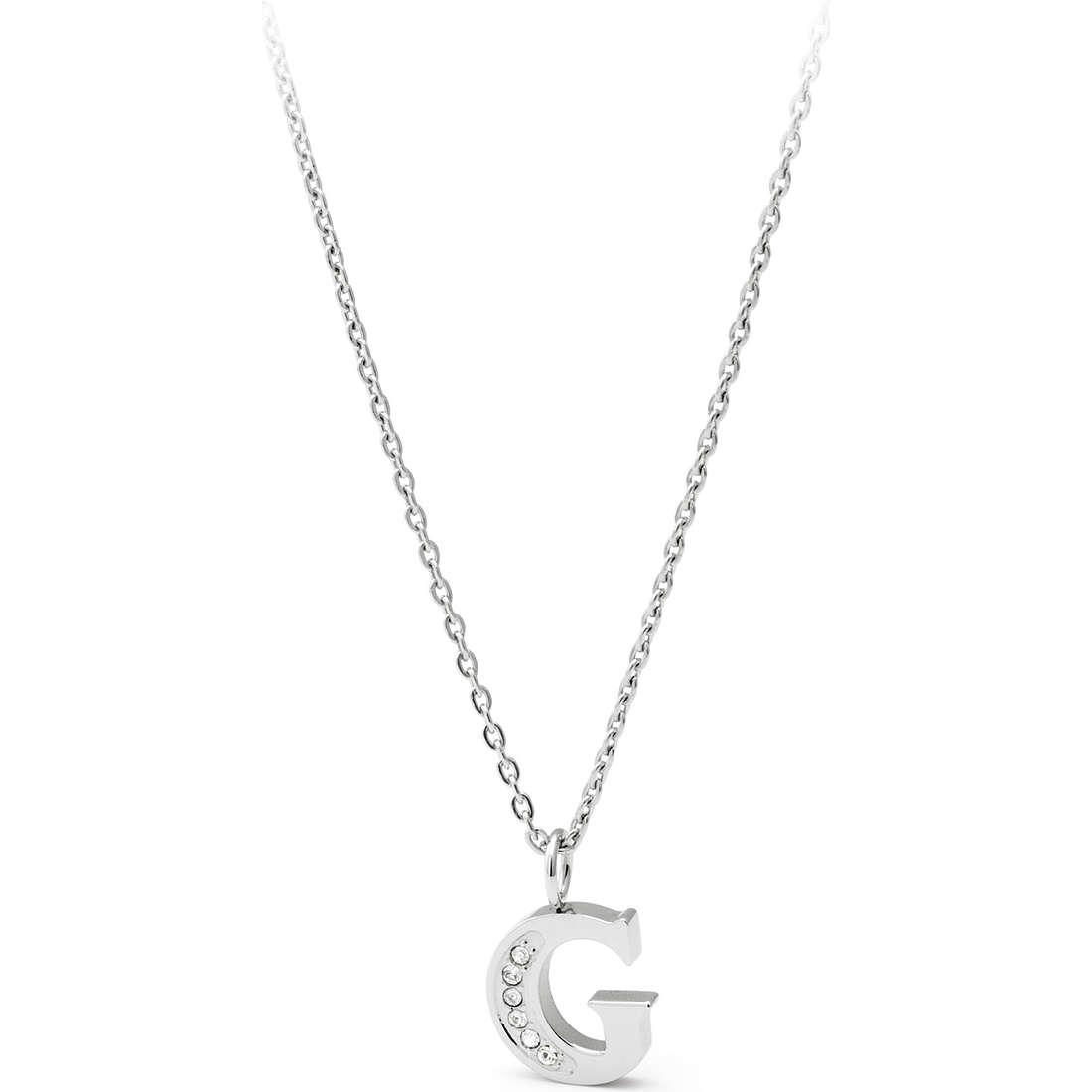 collier femme bijoux Sagapò Alphabet SALG2