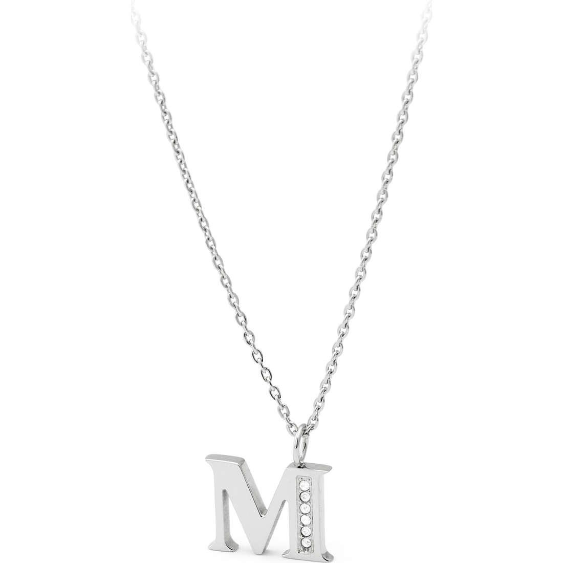 collier femme bijoux Sagapò Alphabet SALM1