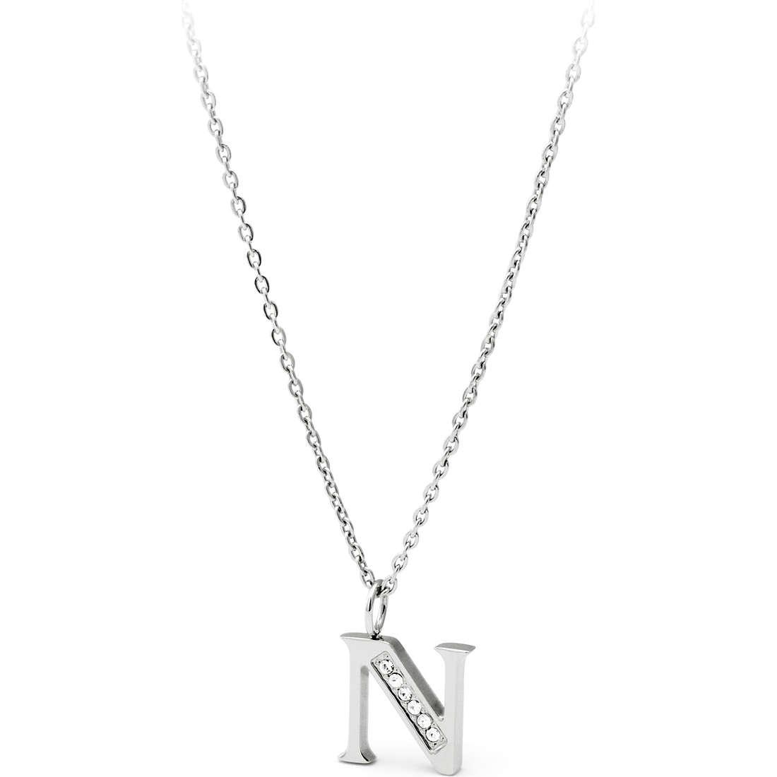 collier femme bijoux Sagapò Alphabet SALN1