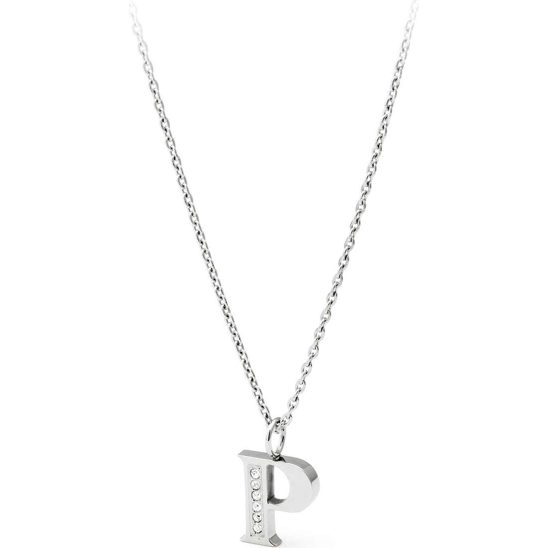 collier femme bijoux Sagapò Alphabet SALP2