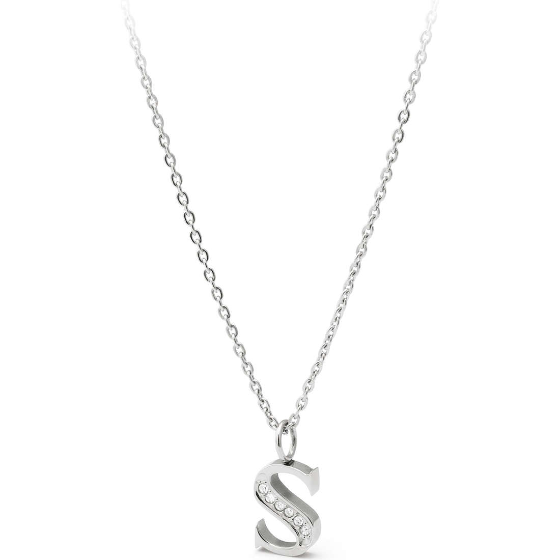 collier femme bijoux Sagapò Alphabet SALS2