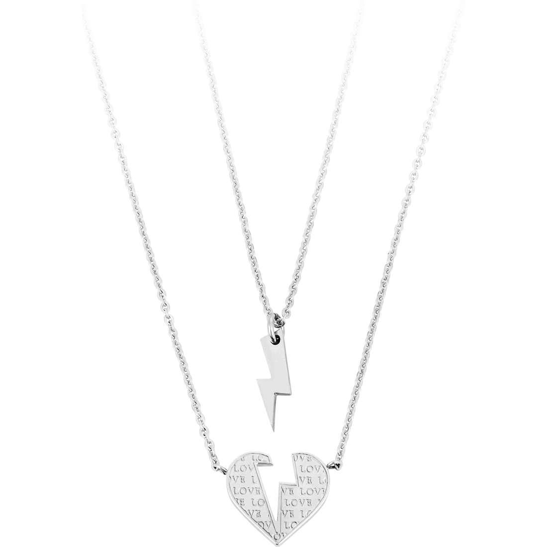 collier femme bijoux Sagapò BE-TWO SBT01