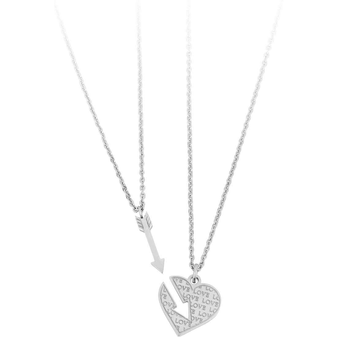 collier femme bijoux Sagapò BE-TWO SBT02