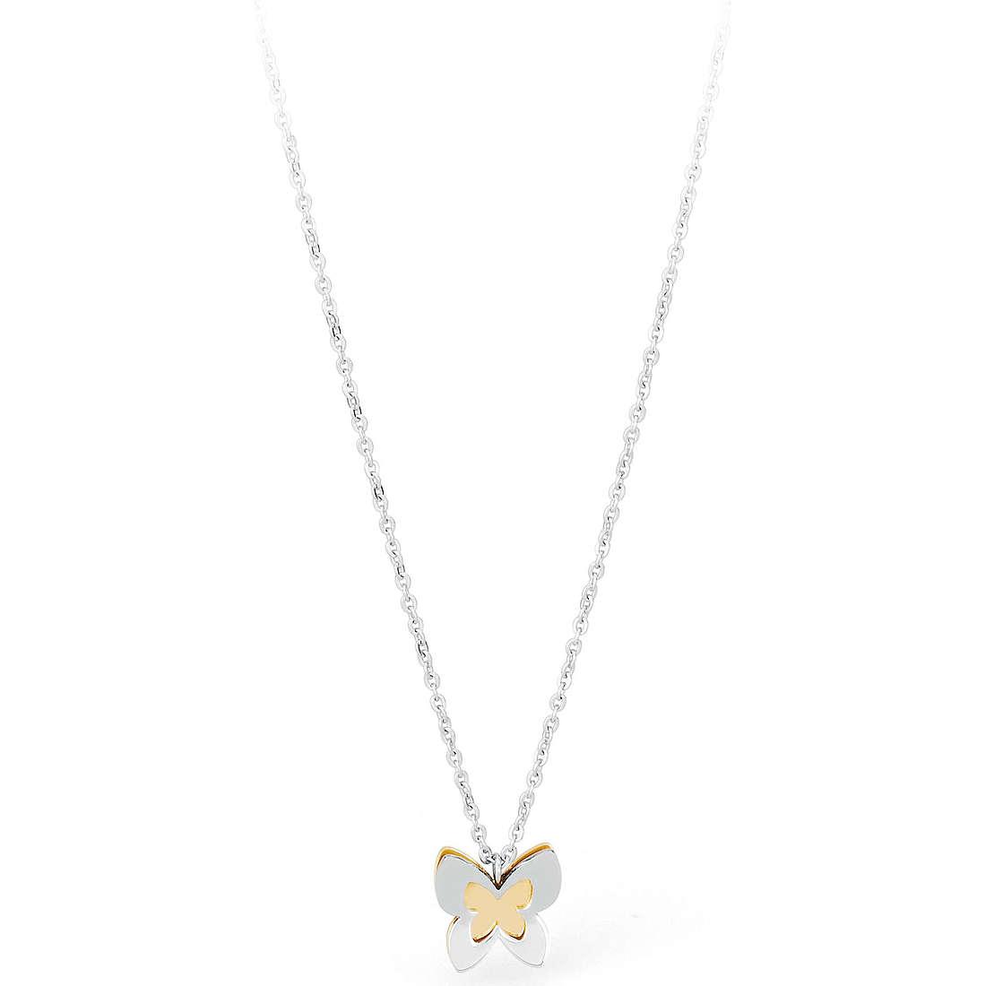 collier femme bijoux Sagapò BUTTERFLY SBF02