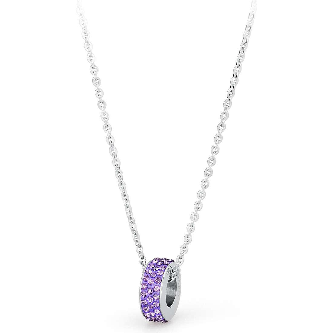 collier femme bijoux Sagapò CRYSTAL RING SCR02