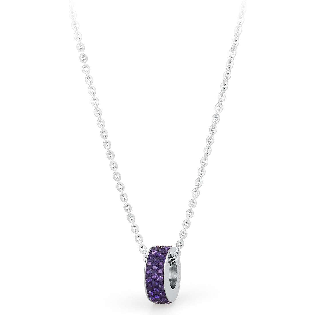 collier femme bijoux Sagapò CRYSTAL RING SCR07