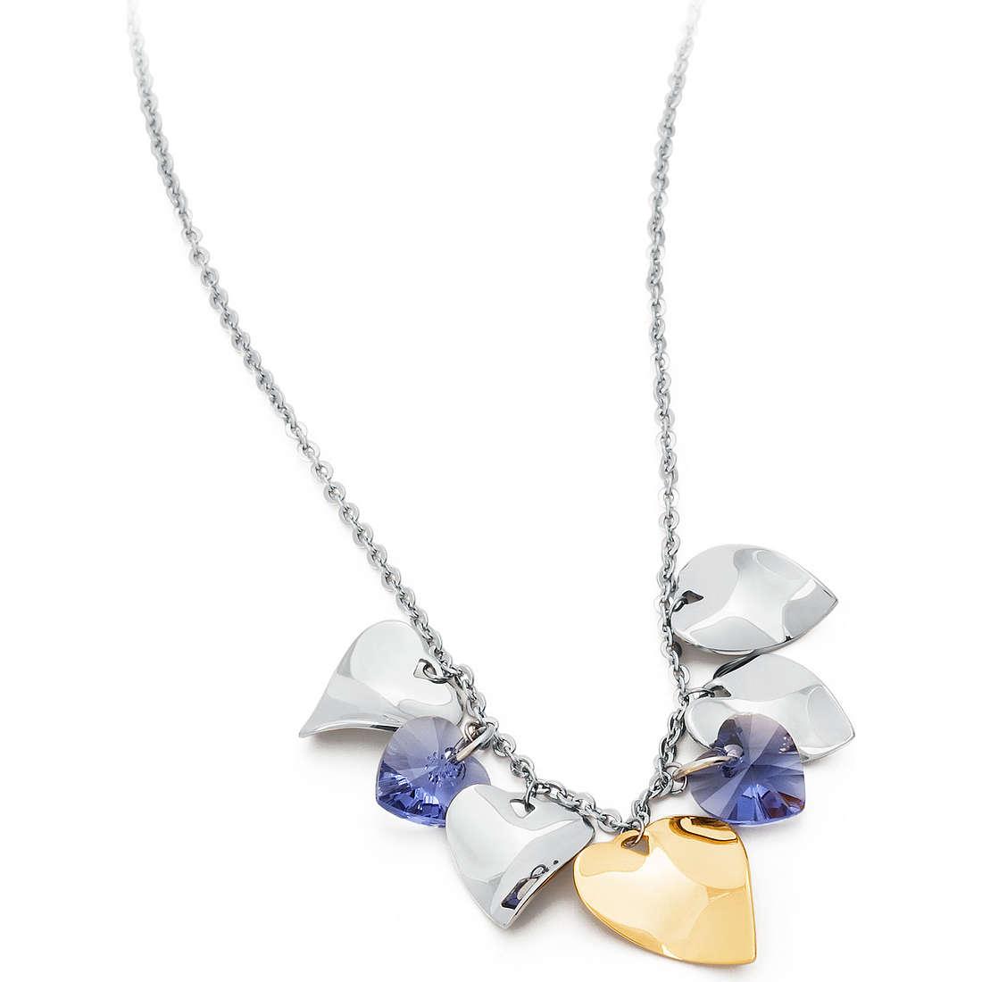 collier femme bijoux Sagapò DROPS SPS03