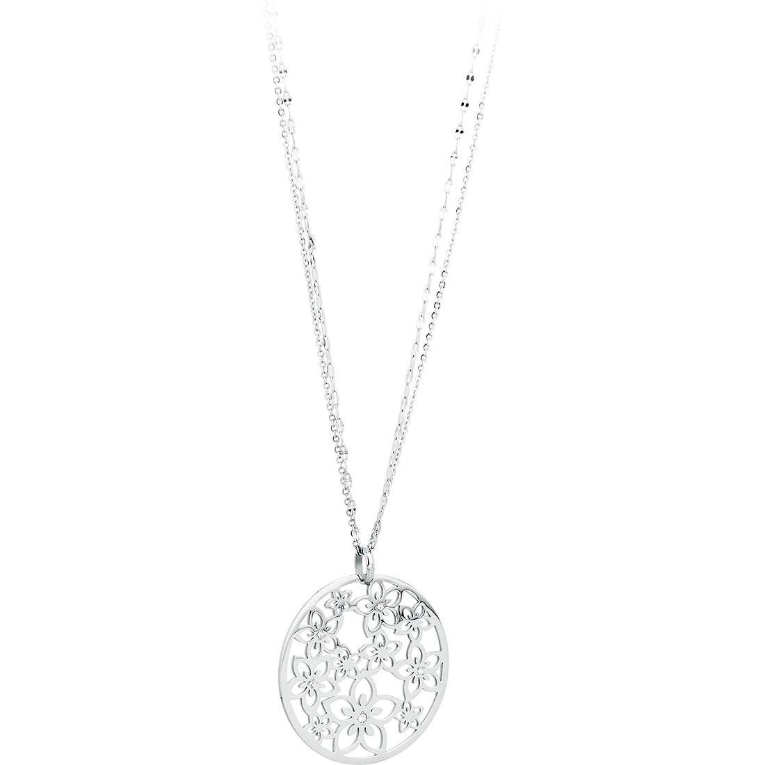 collier femme bijoux Sagapò FLOWER SFL01