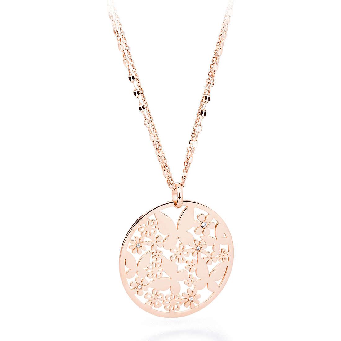 collier femme bijoux Sagapò FLOWER SFL03