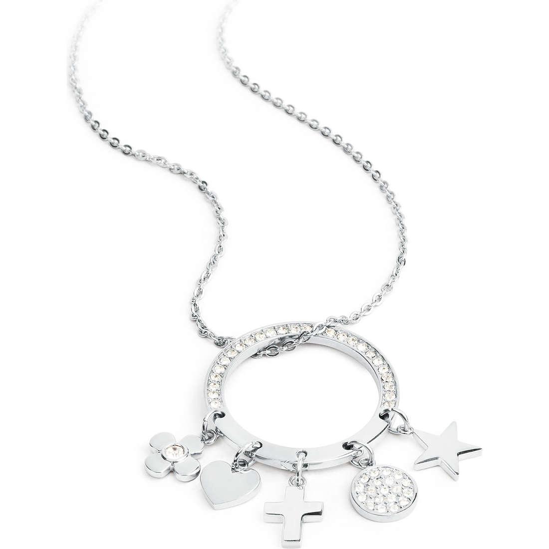 collier femme bijoux Sagapò FLOWER SPY01