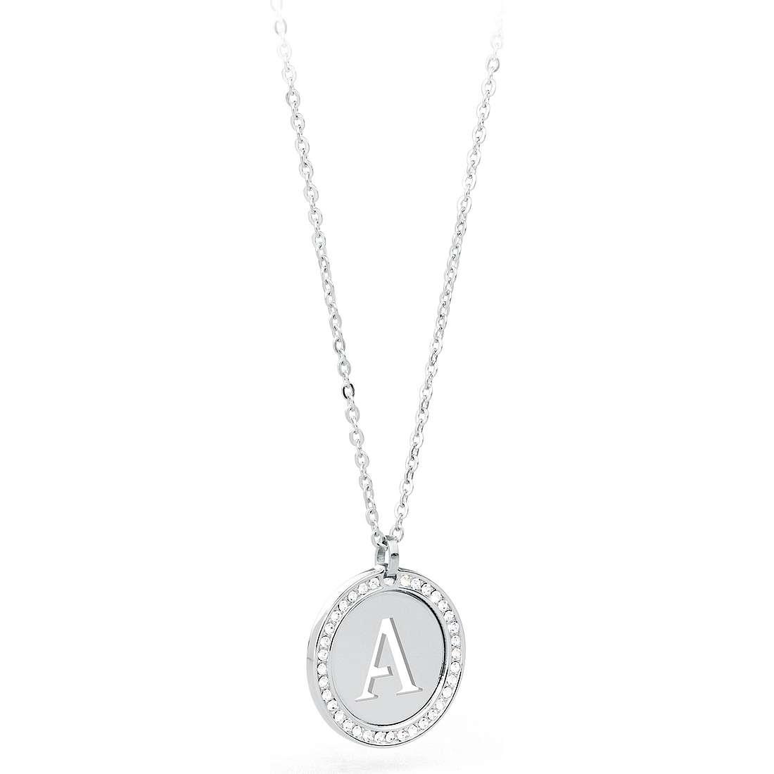 collier femme bijoux Sagapò LetteRing SLR01