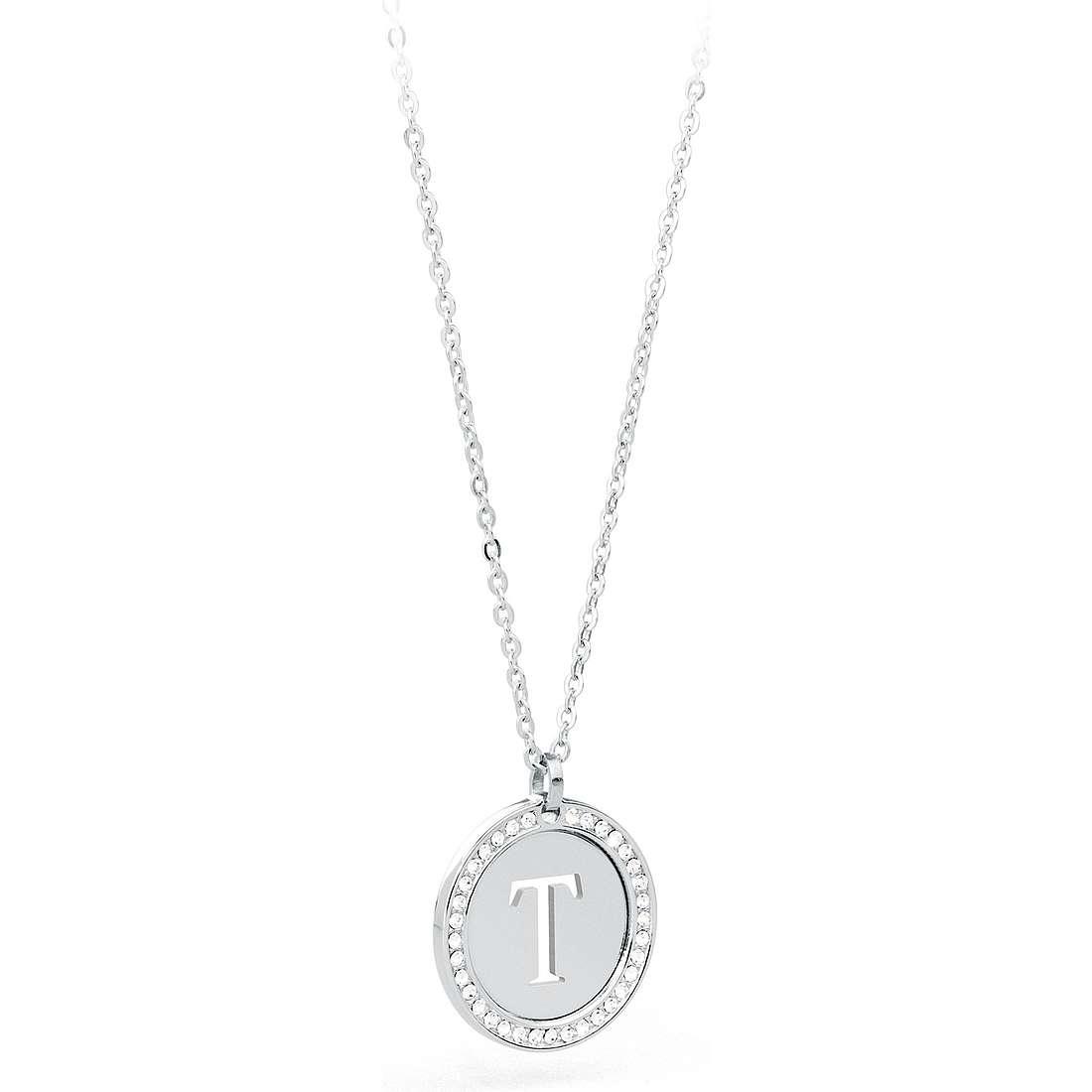 collier femme bijoux Sagapò LetteRing SLR18