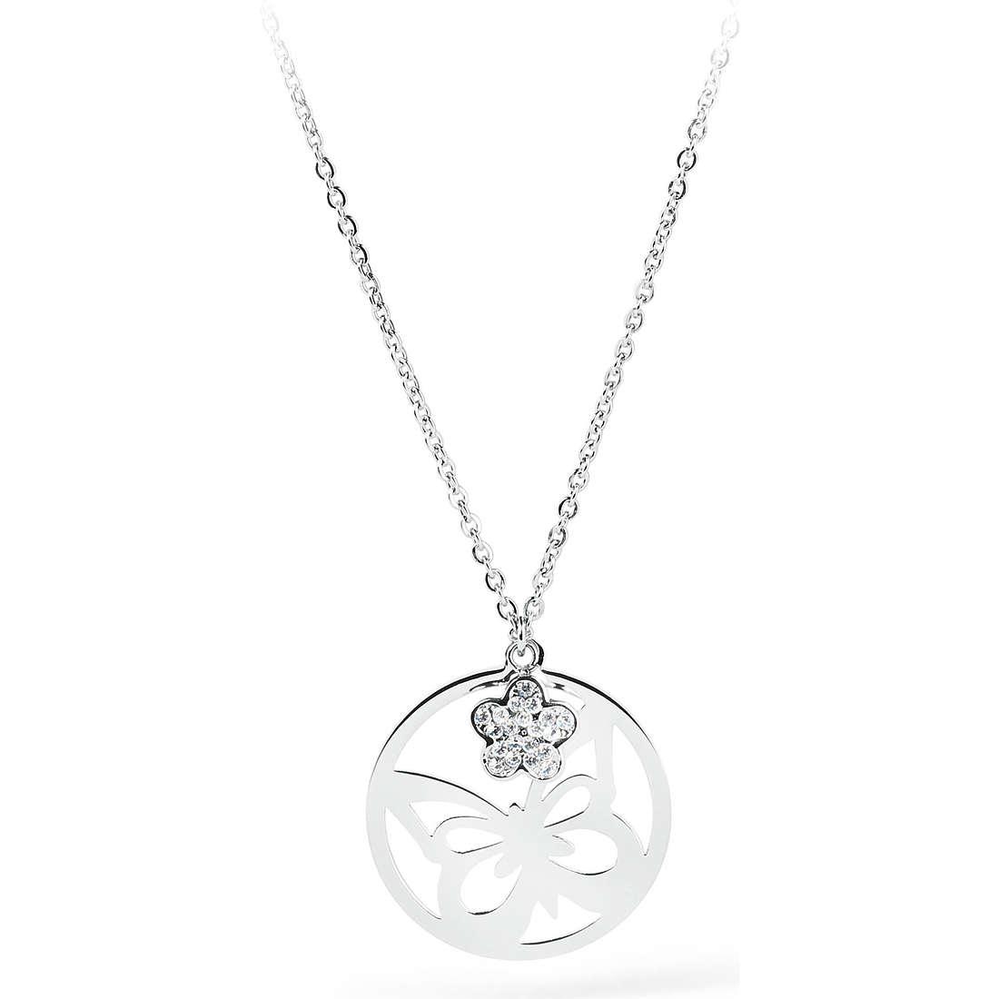 collier femme bijoux Sagapò Lucky Hoop SLH01