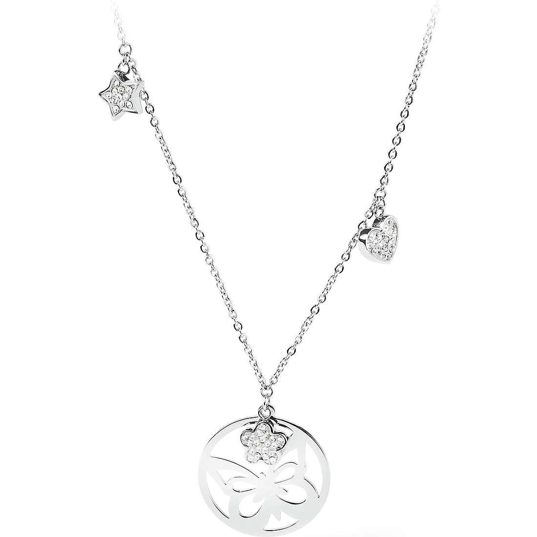 collier femme bijoux Sagapò Lucky Hoop SLH04