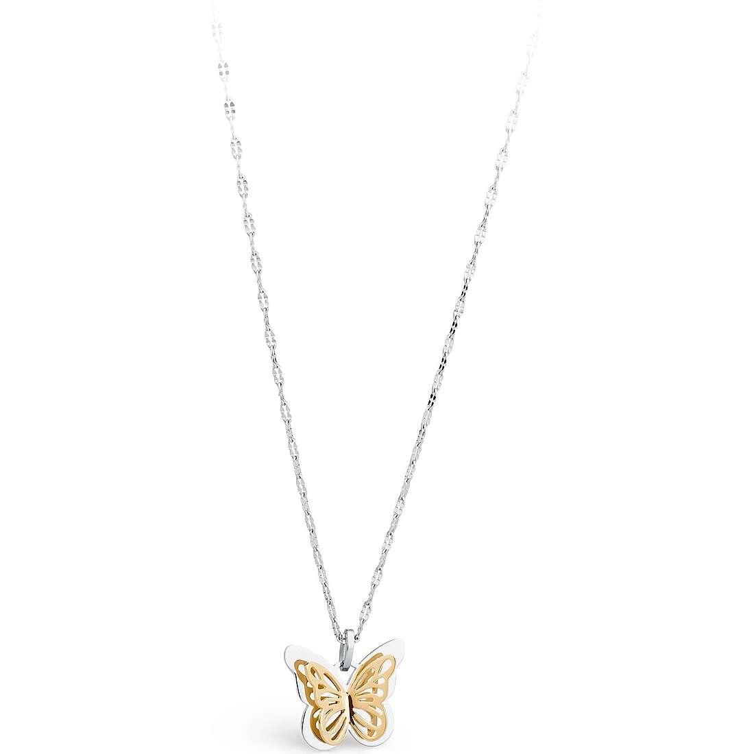 collier femme bijoux Sagapò Mariposa SMP02
