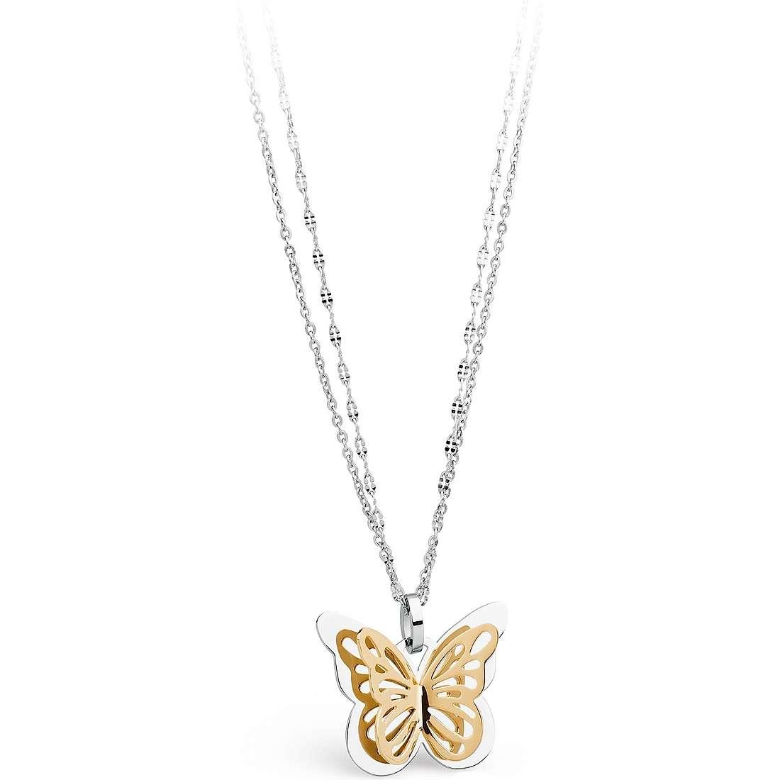 collier femme bijoux Sagapò Mariposa SMP05
