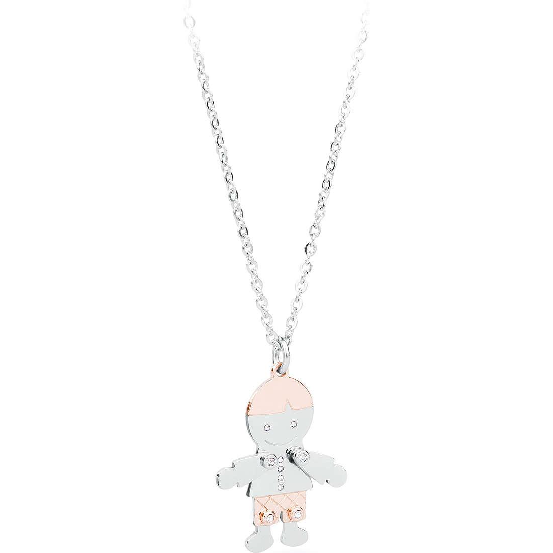 collier femme bijoux Sagapò Puppets SPP03