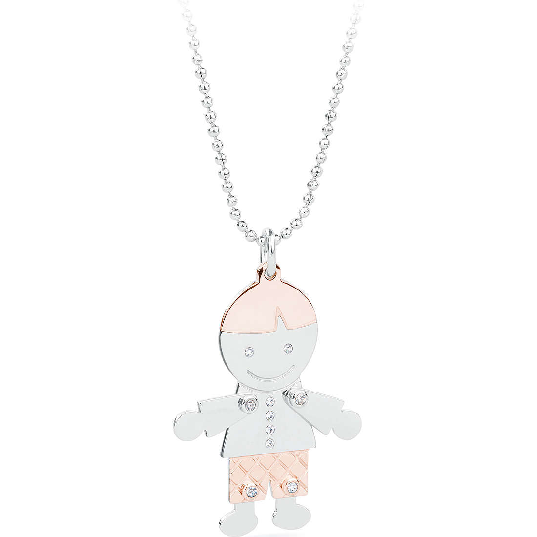 collier femme bijoux Sagapò Puppets SPP04