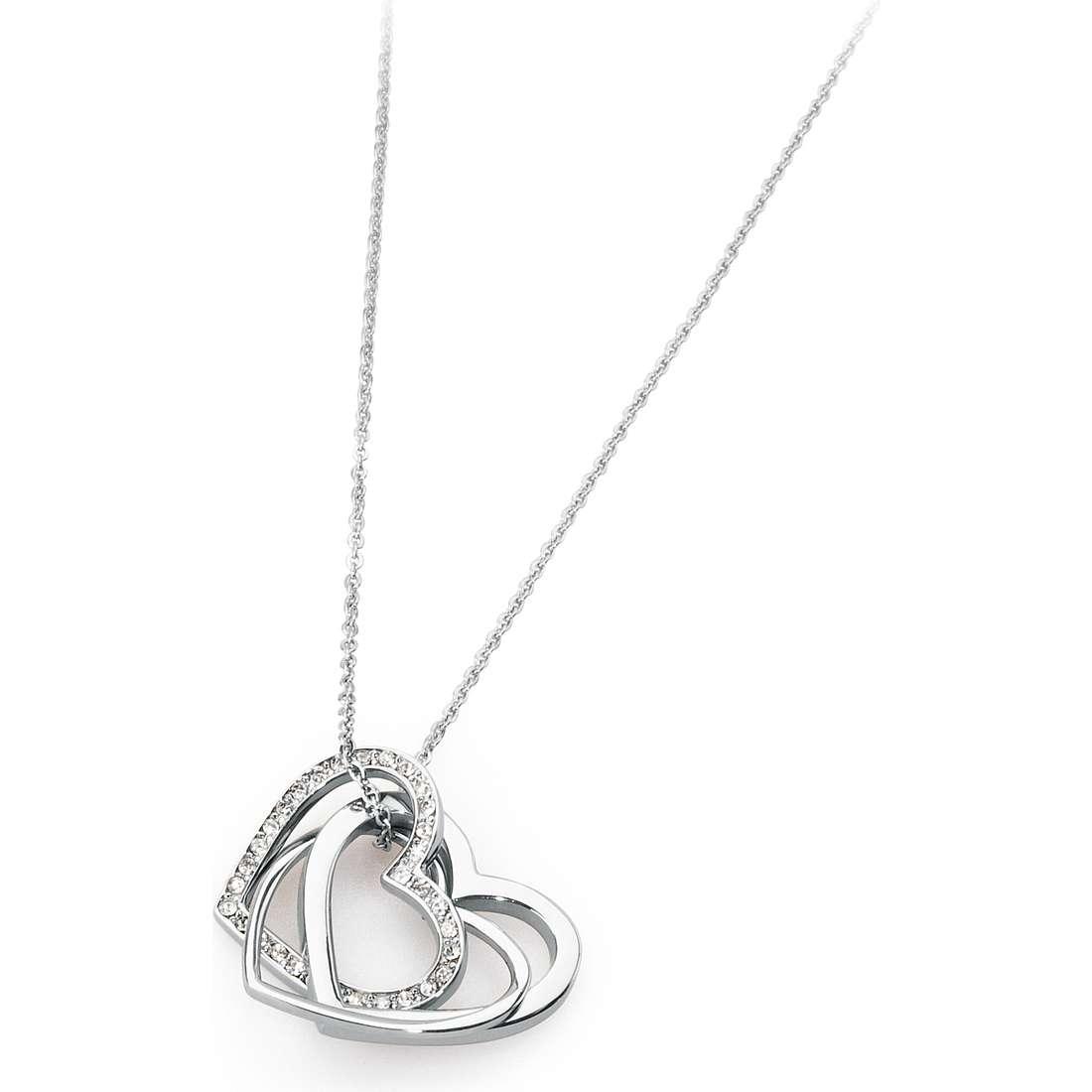 collier femme bijoux Sagapò Triniheart STH03