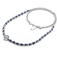 collier homme bijoux 4US Cesare Paciotti Blue Bubbles 4UCL2038