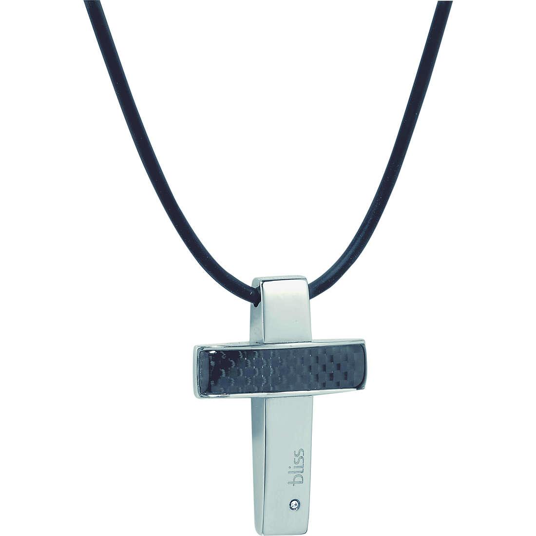 collier homme bijoux Bliss Karbonio 20004543