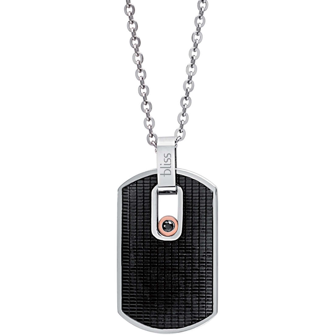 collier homme bijoux Bliss Urban Tag 20069438