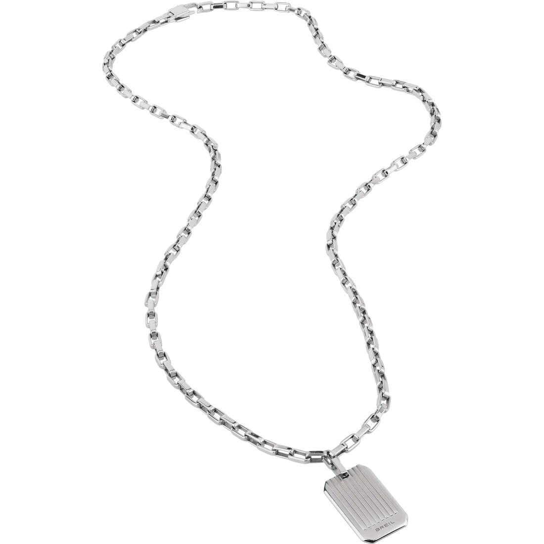 collier homme bijoux Breil Grades TJ1866