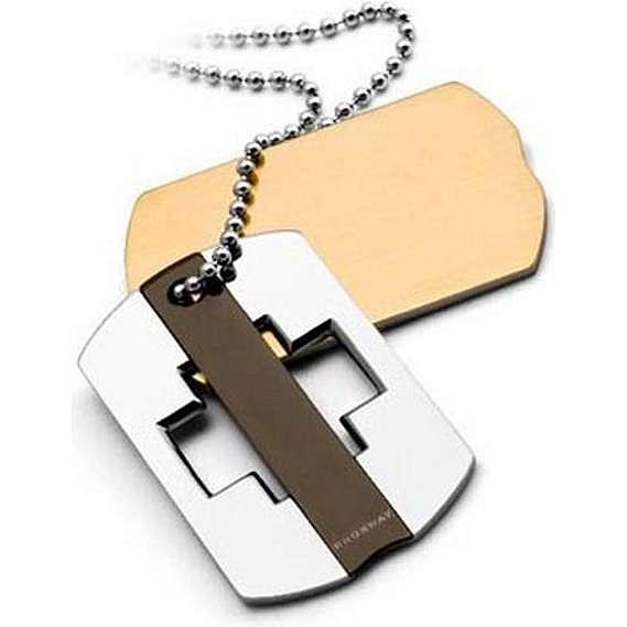 collier homme bijoux Brosway BHR07