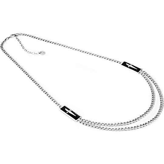collier homme bijoux Cesare Paciotti JPCL0720B