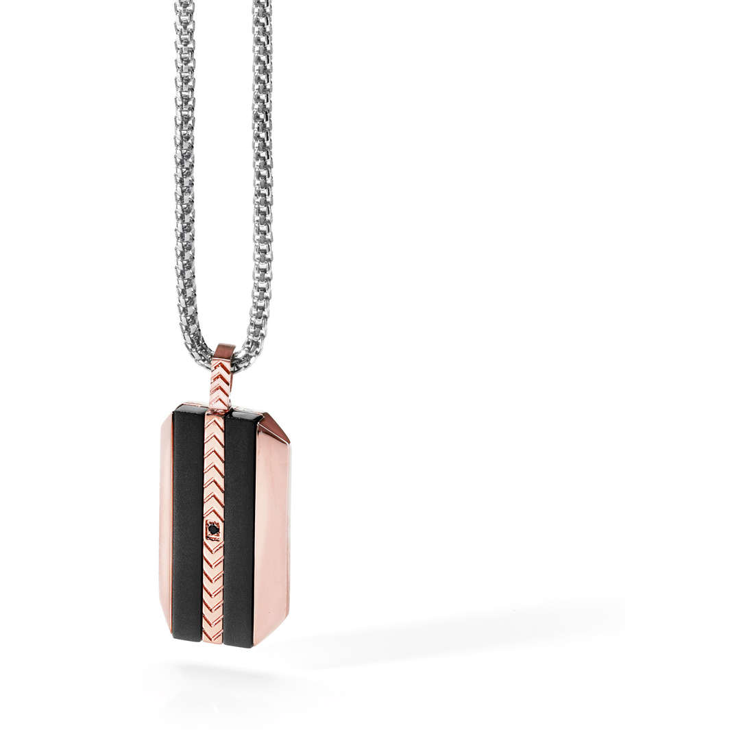 collier homme bijoux Comete Acciaio UGL 406