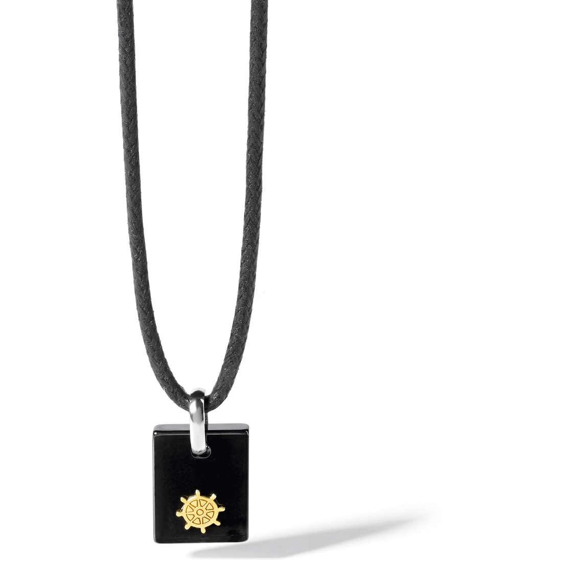 collier homme bijoux Comete Acciaio UGL 461