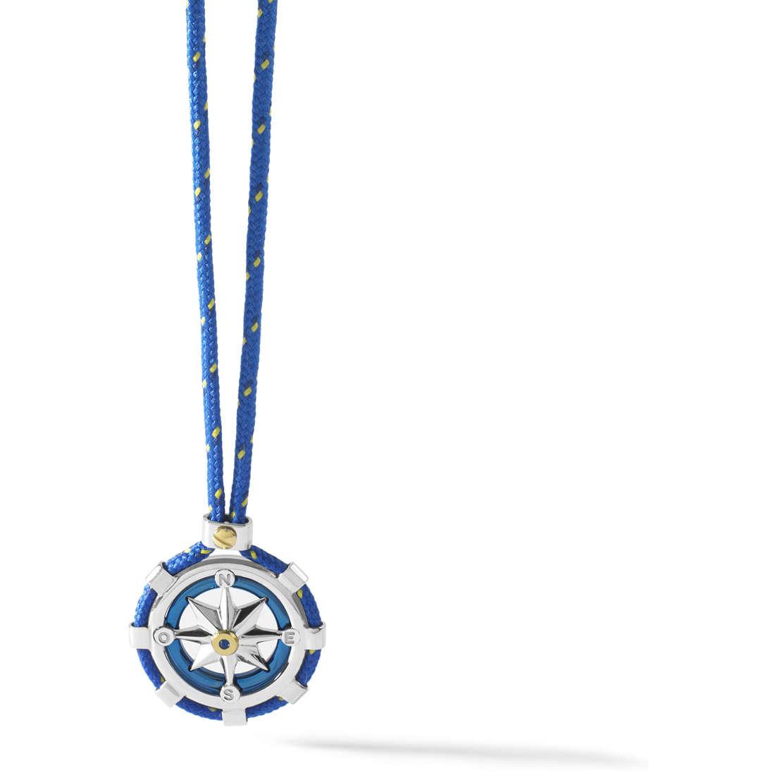 collier homme bijoux Comete Blu di Genova UGL 560