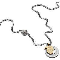 collier homme bijoux Diesel Double Pendant DX1127040