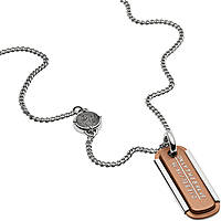 collier homme bijoux Diesel Single Pendant DX1095040