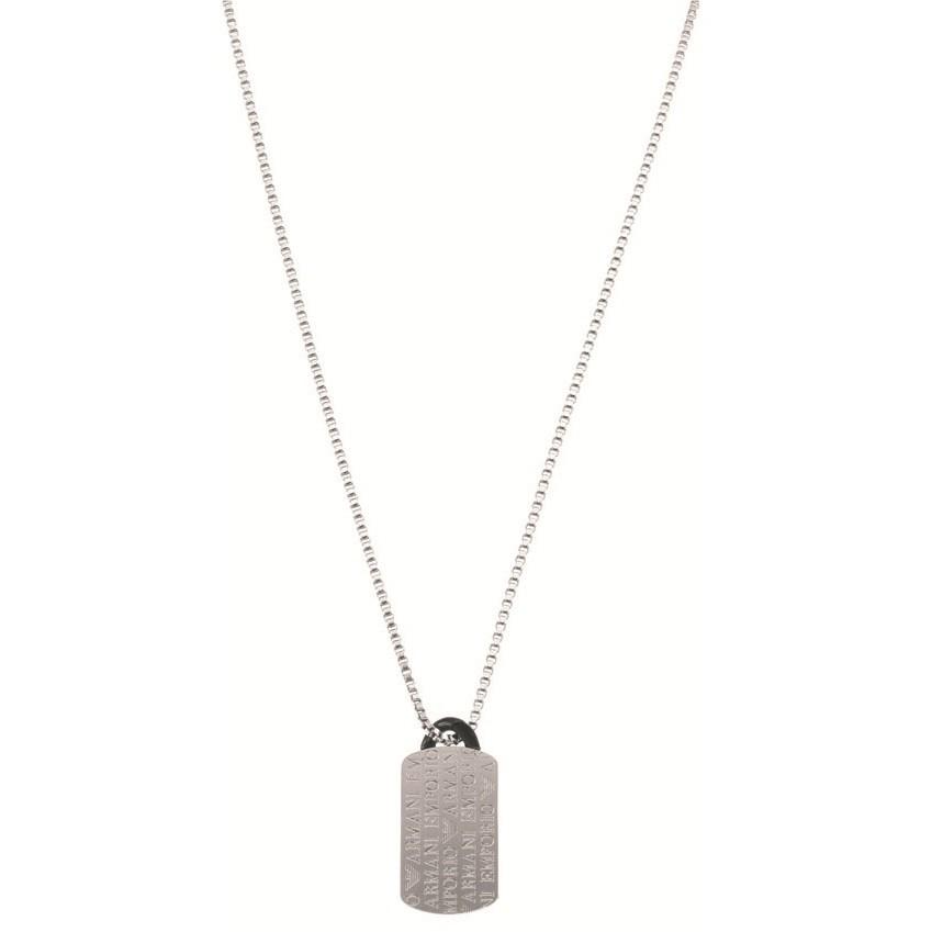 collier homme bijoux Emporio Armani EGS1156040