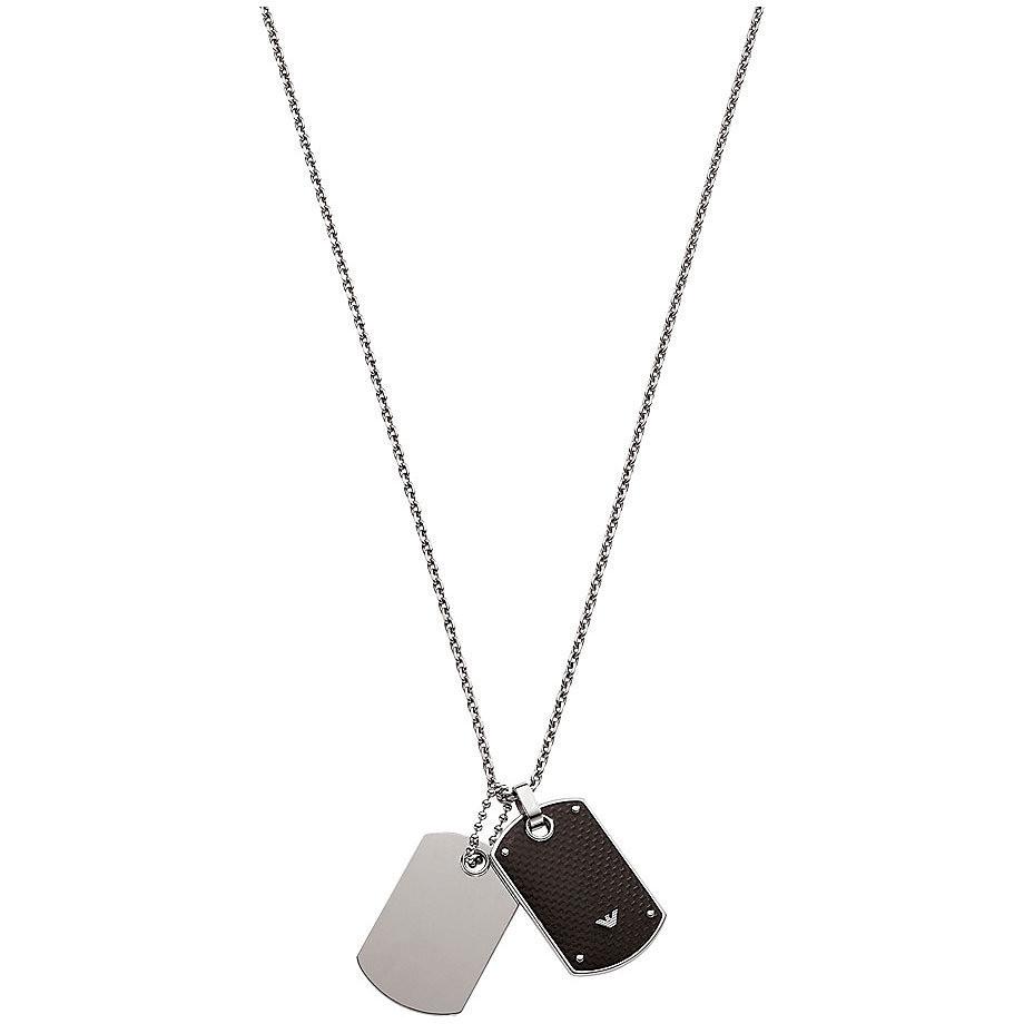 collier croix homme armani