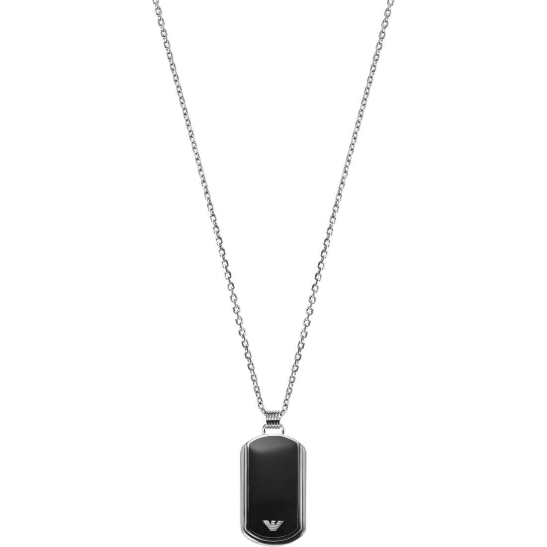 collier homme bijoux Emporio Armani EGS1726040