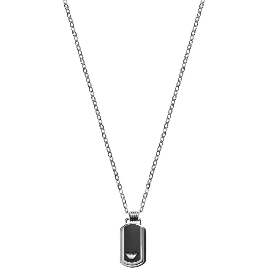 collier homme bijoux Emporio Armani EGS1727040