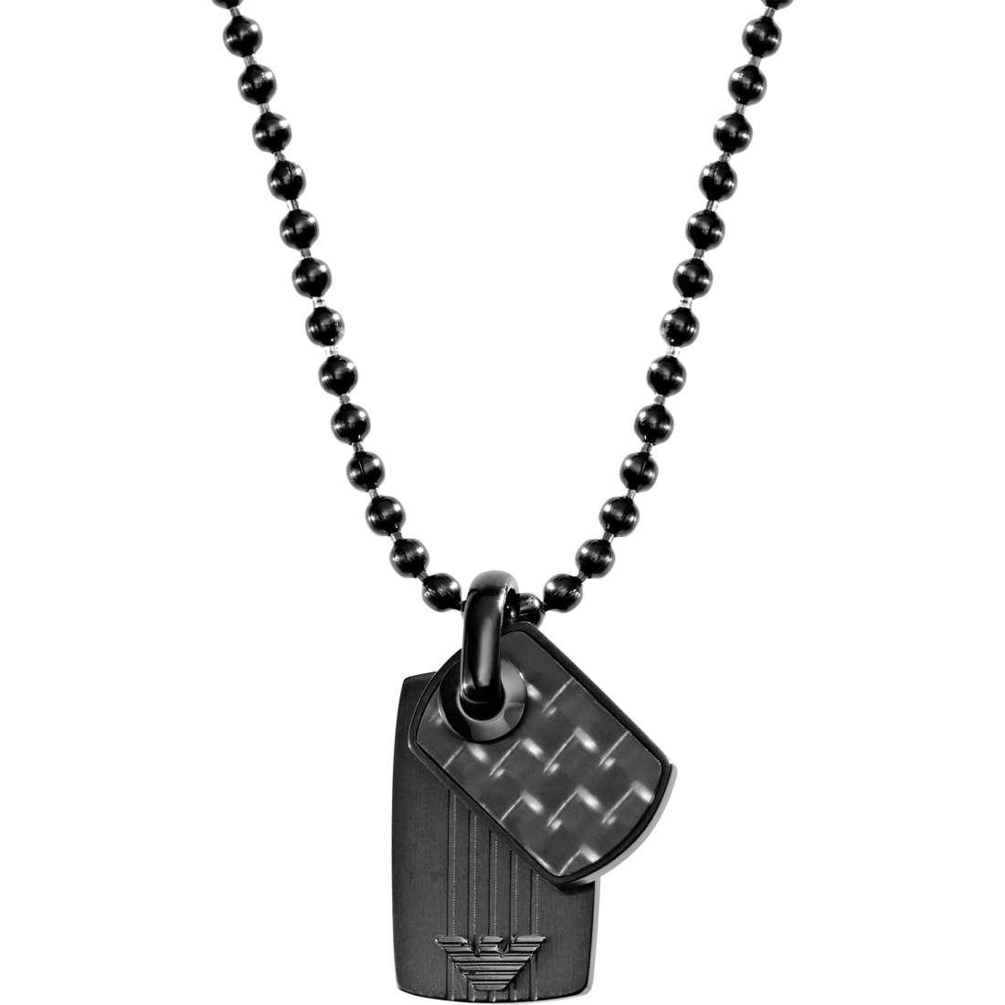 collier homme bijoux Emporio Armani EGS1738001