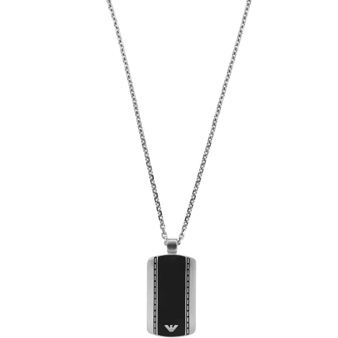 collier homme bijoux Emporio Armani EGS1921040