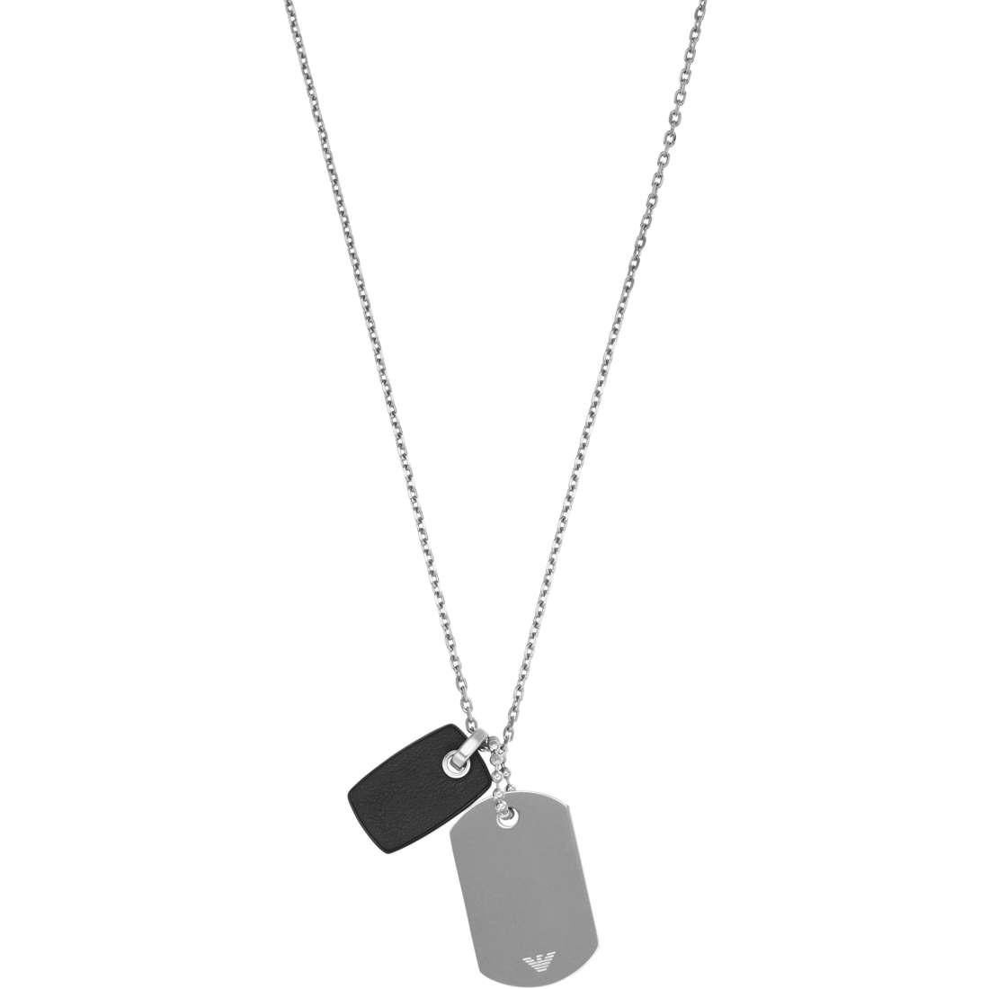 collier homme bijoux Emporio Armani EGS2064040