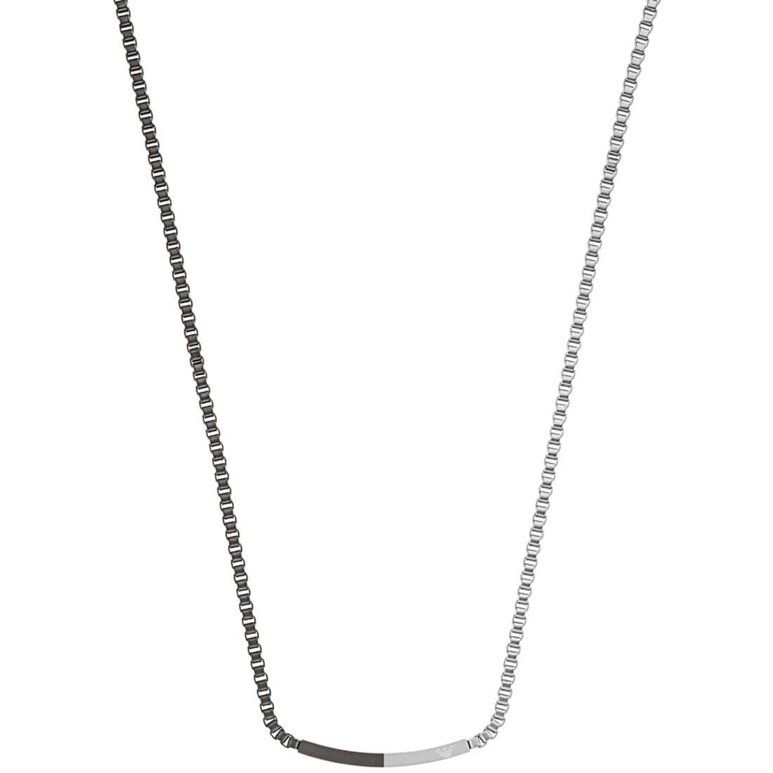 collier homme bijoux Emporio Armani EGS2128040