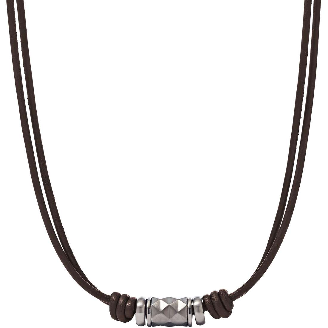 collier homme bijoux Fossil Fall 15 JF02066040