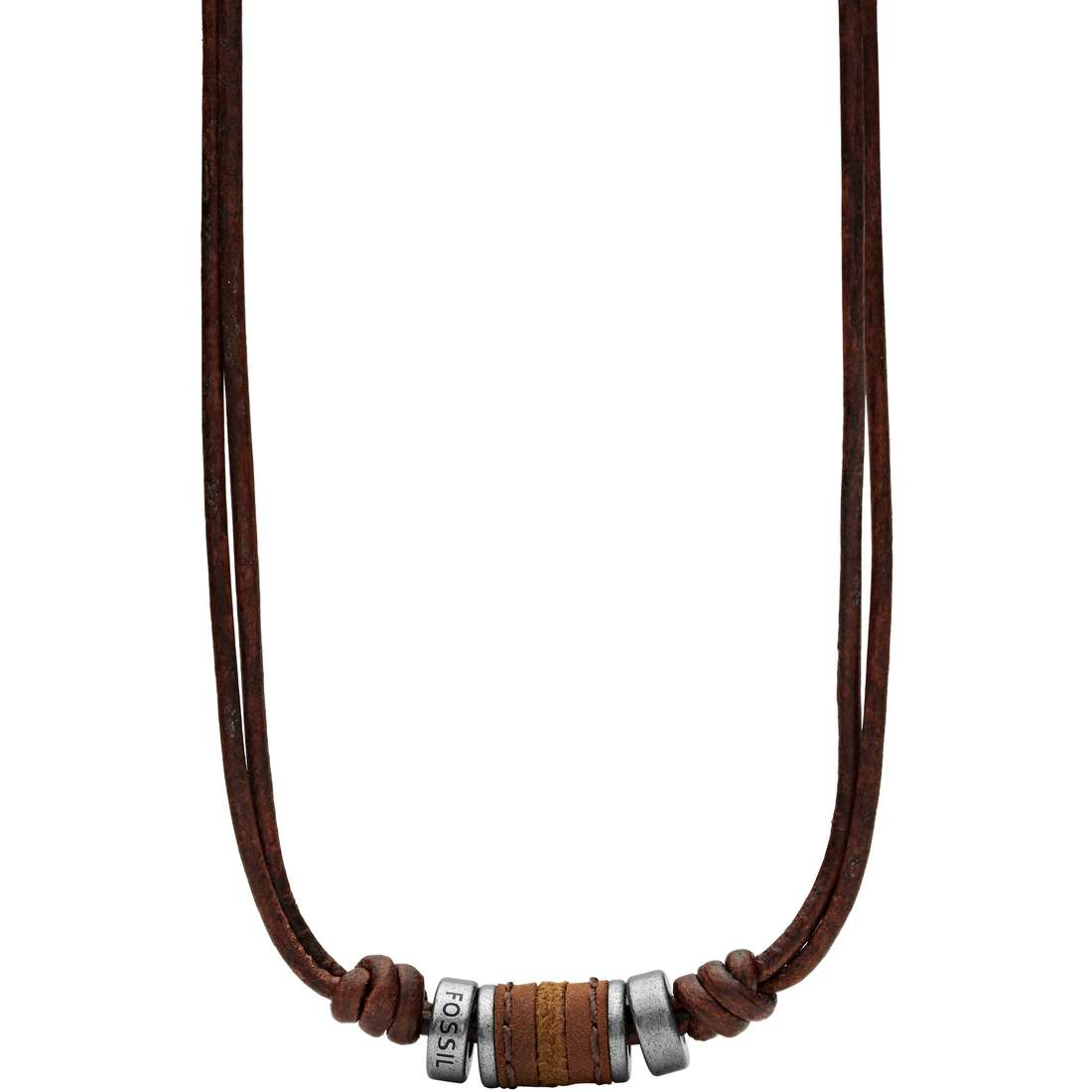 collier homme bijoux Fossil Fall 2013 JF00899797