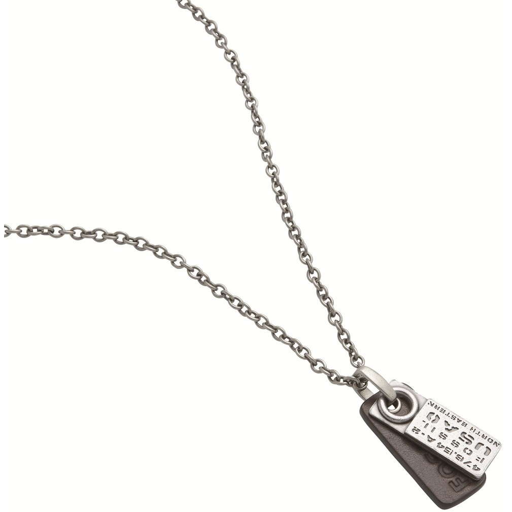 collier homme bijoux Fossil JF87046040