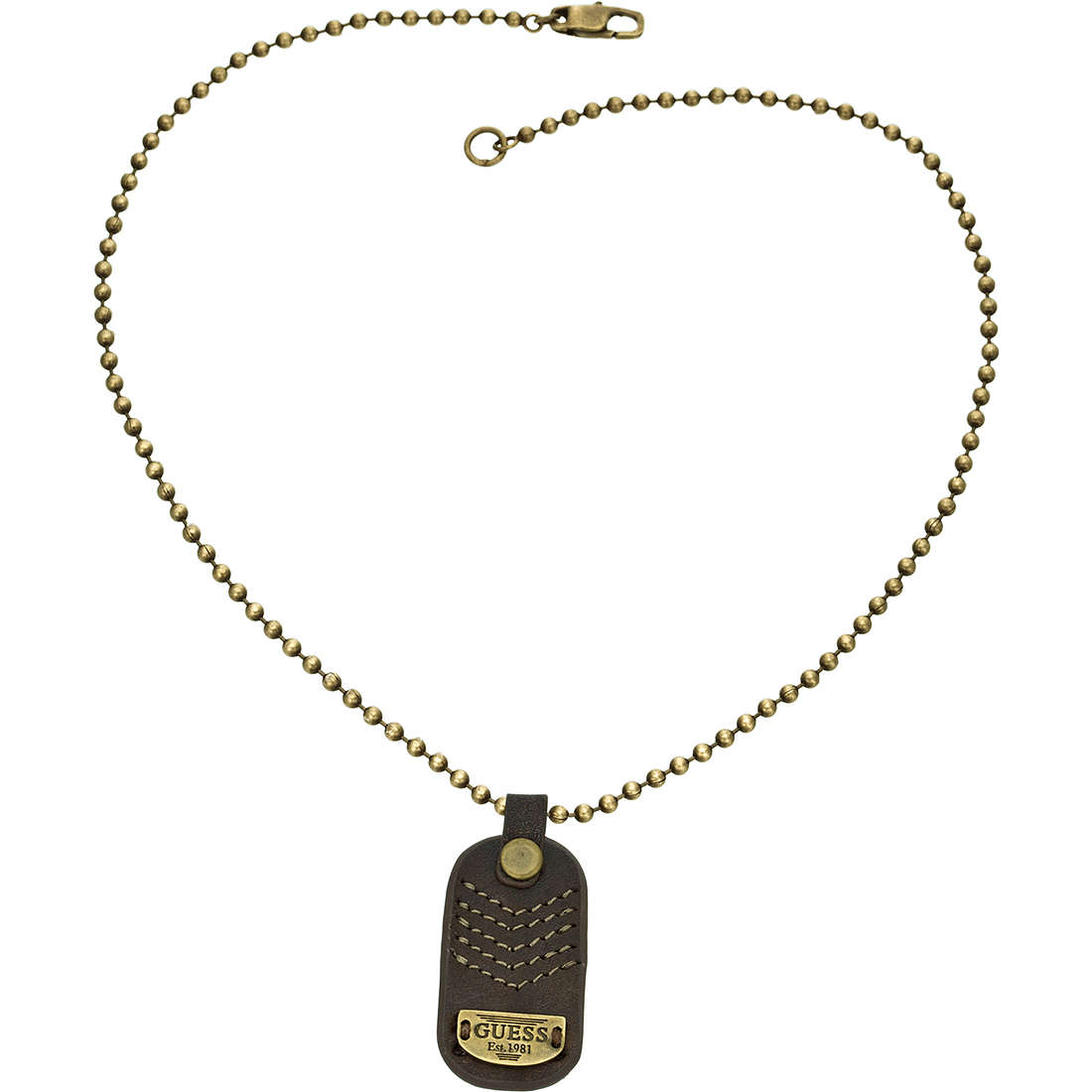 collier homme bijoux Guess UMN11309